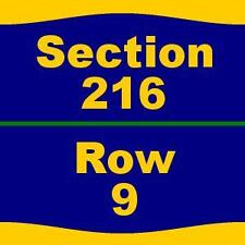 2 Tickets Andrea Bocelli 2/11/17 at Amway Center - 216 9
