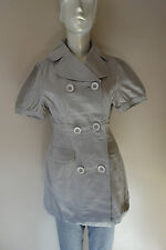 Tullette Double Breasted Cotton Jacket Size: S, M, L NWT
