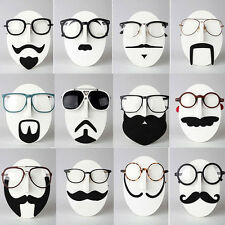 Novelty Mustache Face Sunglass Spectacles Display Stand Glasses Rack Organizer