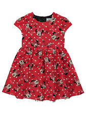 Girls Disney Minnie Mouse Dress Age's 2-3  3-4  4-5  5-6 Years NEW