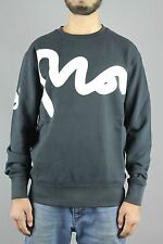 Money Clothing Big Signature Crew Neck Mens Sweatshirt Navy Blue 2E 110024