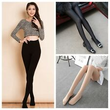 Sexy Women High Elastic Tights Velvet Opaque Seamless Slim Stockings Pantyhose