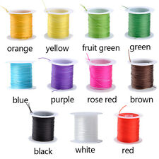 0.6mm Strong Stretchy Elastic Thread Cord String Strand Beading Craft 20M 2 Roll