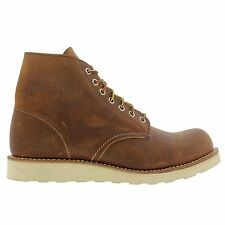 Red Wing 9111 Classic Round  Tan Mens Boots