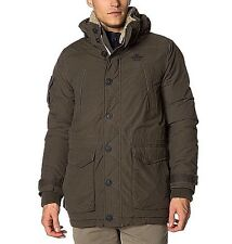 BNWT Mens NZA New Zealand Auckland Down Jacket Size Large Blue or Khaki RRP £310