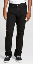 NWT Mens Slim Straight Fit Jeans, Black, Mossimo Supply Co. Free Shipping