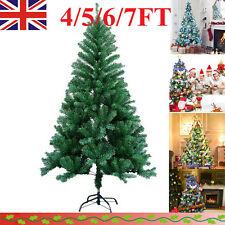 Large Artificial Christmas Tree Snow Cones Realistic Xmas Trees 4ft 5ft 6ft 7ft