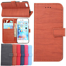 Luxury Slim Leather Stand Card Holder Hard Back Case Cover For iPhone 6 6s Plus