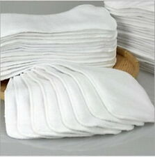 1-20Pcs Reusable Baby inserts liner for Cloth Diaper Nappy microfiber Optional ~