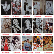 Retro Character Tin Sign Wall Decor Metal Bar Plaque Pub Poster Home Tavern Shop