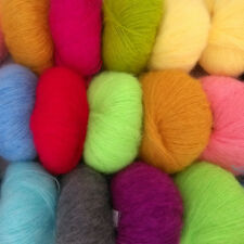 Multi-Color Luxury Angola Mohair Cashmere Wool Yarn Skein Wholesale