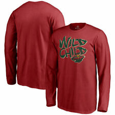 Minnesota Wild Youth Red Hometown Collection Wild Child Long Sleeve T-Shirt