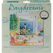 Dimensions 330149 Daydreams Beach Tranquilly Counted Cross Stitch Kit-20cm . x 2