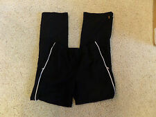 Lucy Workout Running Bottoms Jogging suit reflective piping Size Medium