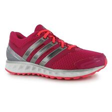 Adidas Falcon Elite 3 Running Shoes Trainers Womens Pink/Red Jogging Sneakers