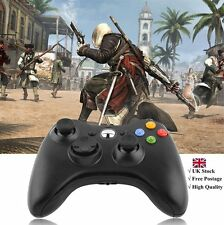 Black BRAND NEW USB WIRED CONTROLLER FOR MICROSOFT XBOX 360 PC WINDOWS SELLER BY
