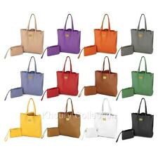 JOY Genuine Leather Smart Bag with RFID-Protected Clutch By Joy Mangano 12 Color