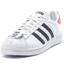 adidas Superstar Nigo Bear Mens Trainers White Red Black New Shoes