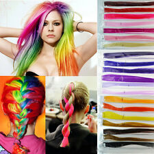 Fashion Womens Straight Clip In Synthetic Fiber Hair Extensions Hair Pieces