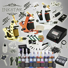 Complete Tattoo Kit Inkstar Apprentice with Black, Color, Professional or No Ink