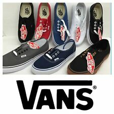 VANS SHOES AUTHENTIC CLASSIC CANVAS *NEW IN THE BOX* SIZES 3.5 TO 13 MEN / WOMEN