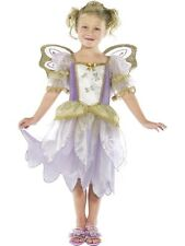 Kids Glitter Butterfly Fairy Princess Girls Fancy Dress Costume Party Outfit