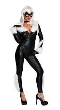 Womens Sexy Black Cat Felicia Hardy Costume