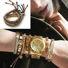 1Pc New Fashion Style Letter Exquisite Luxury Charm Copper Beads Bracelets