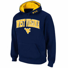 Stadium Athletic West Virginia Mountaineers Navy Arch & Logo Pullover Hoodie