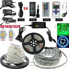 3528/5050/5630 RGB White  Flexible Strip Light SMD 300LED+IR Remote+Power Supply