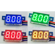 3 Digit 0-200V 0.36 three-wire Mini Voltage Test Panel Meter Different Choice BE