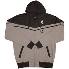 Famous Stars & Straps Stretch Zip up Hoodie Heather Grey Black