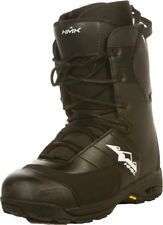 HMK Black Mens Team Lace Snowmobile Boots Waterproof 2014-2015
