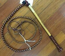 Genuine Australian Made Stock Whips - made in Qld since 1850 - the real deal!
