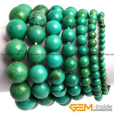 Handmade Vintage Old Turquoise Beaded Stretchy Energy Healing Bracelet Gift 7""