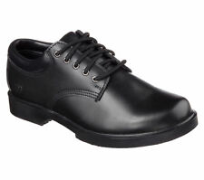 76569 Black Skechers Shoes Women Work Safty Nurse Uniform Slip Resistant Leather