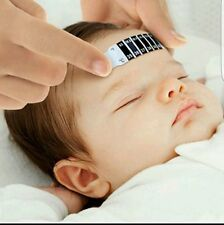 BABY FOREHEAD THERMOMETER STRIP FEVER KIDS CHILD ADULT CHECK TEST TEMPERATURE