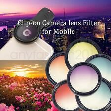 37mm Camera Lens Filter Clip-on Gradient color effects For Phone Hot