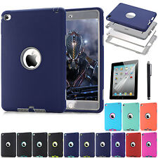 Skin For Apple IPad Mini4 Cover Shockproof 3in1 Hybrid Anti-Scratch Protect Case