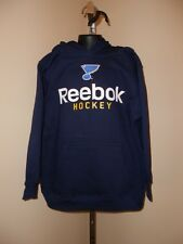 New NHL St. Louis Blues Youth sizes S-L-XL Reebok Navy Blue Hoodie