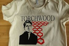 Womens Doctor Who Captain Jack Torchwood T-shirt. American Apparel 100% cotton