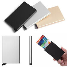 Classical Aluminum ID Credit Card RFID Storage Protector Holder Purse Wallet Box