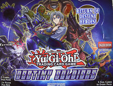 YuGiOh! DESTINY SOLDIERS *DESO* CHOOSE YOUR SECRET AND SUPER RARE CARDS