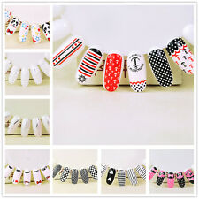 DIY Tips Fingernail Decoration Manicure Nail Art Decals Water Transfer Stickers