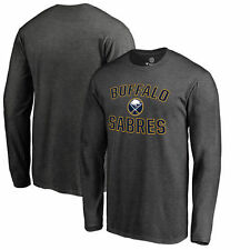 Buffalo Sabres Heather Gray Victory Arch Big & Tall Long Sleeve T-Shirt