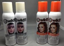 Temporary Hair Color B wild Spray On Wash Out Tiger Orange - 2 Pack