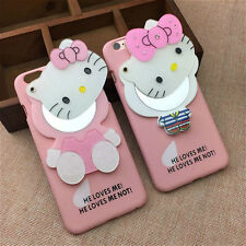 Hello Kitty Luxury Mirror Hard Plastic Hybrid Back Cover for Iphone 6 6S plus
