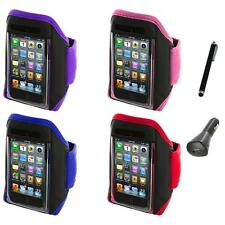 Gym Sports Armband Case Cover+Charger+Pen for iPod Touch 4th 3rd 2nd Gen 4G 3G