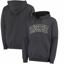 Colosseum Vanderbilt Commodores Charcoal Arch Pullover Hoodie