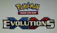 POKEMON XY EVOLUTIONS SECRET RARE, ULTRA, BREAK & PRIME HOLO CARDS - YOUR CHOICE